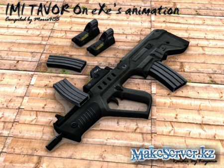 IMI Tavor on eXe.'s MW2 Animations