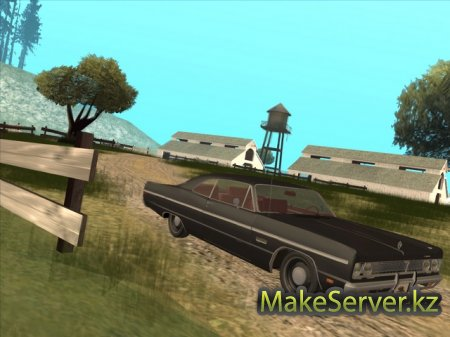 Plymouth Fury для GTA SA