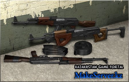 Ak 47 custom pack by TechSnake