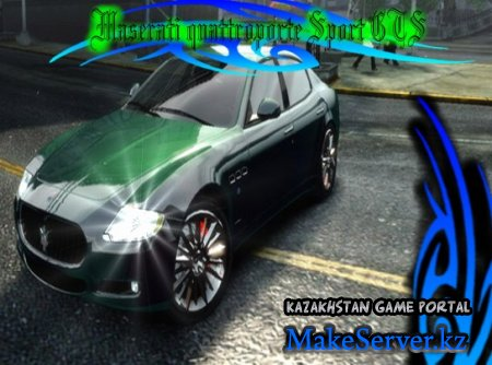 Maserati quattroporte Sport GTS for Grand Theft Auto 4