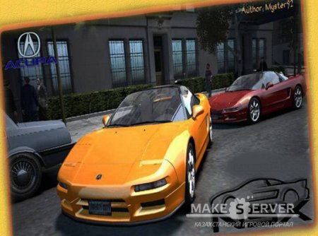 Acura NSX 1991 for Grand Theft Auto 4