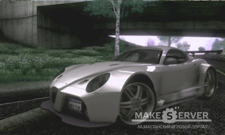 Alfa Romeo 8C GT3 RSX for Grand Theft Auto SanAndreas