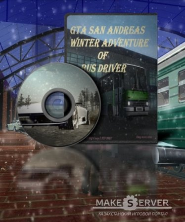 GTA / Grand Theft Auto: San Andreas Winter Adventure Of Bus Driver (2012) PC