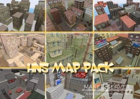 HNS map pack