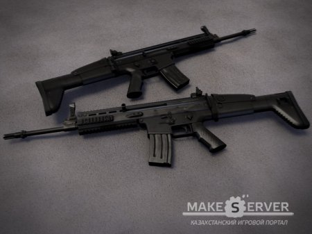 End of Days SCAR-L (Black) Replaces M16