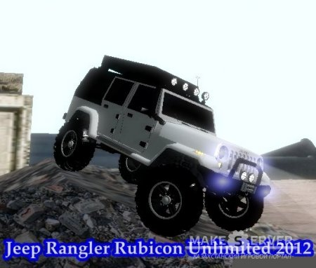 Jeep WRangler Rubicon Unlimited 2012 4x4