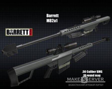 Barret M82A1 (Модель awp для css)