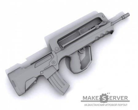 Замены моделей оружия игрокам на сервере.