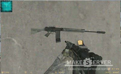 MW2 FN FAL + Red dot