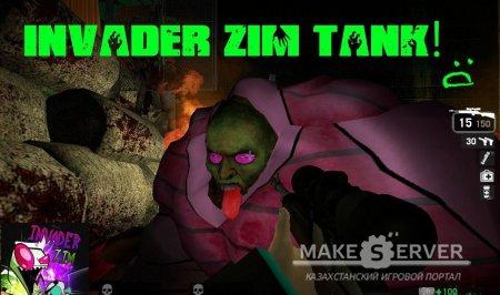 Invader Zim Tank