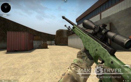 AWP - Green Camo