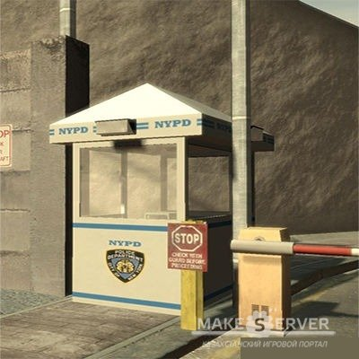NYPD Police Booth