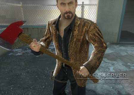 Snakeskin Coat Brown Nick Body V2