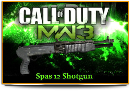 COD8 MW3 Spas 12 Shotgun