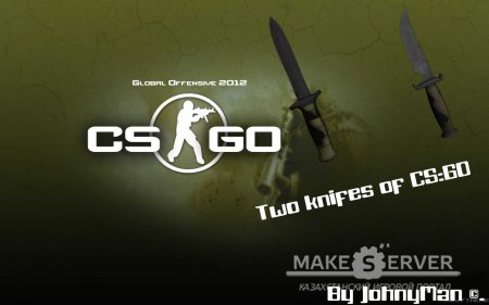 Two Knifes from CS:GO