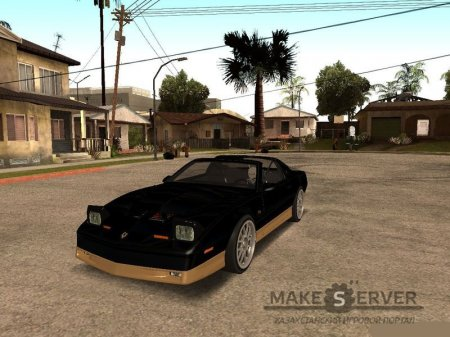 Pontiac Firebird Trans Am GTA TT Black Revel