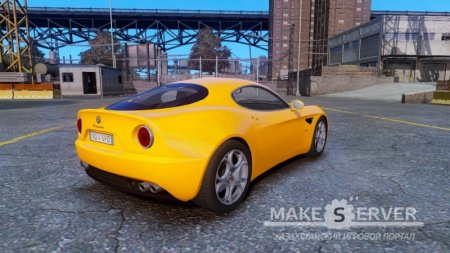 Alfa Romeo 8c stock NFS SHIFT 2