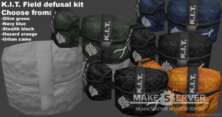 K.I.T. Field defusal kit