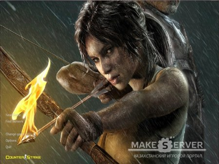 Lara Kroft Tomb Raider HD Menu Backround