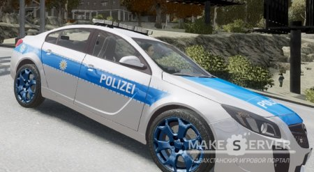 Opel Insignia 2012 - German Police