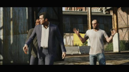 GTA V: Michael. Franklin. Trevor. (Новые трейлеры)