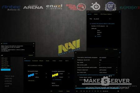 Counter-Strike 1.6 Protected + Bot + Na'Vi