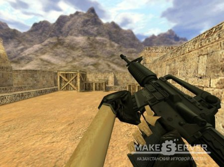 Twinke Masta's HD M4A1 on Valve's Animations