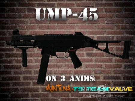 UMP-45 On 3 Anims
