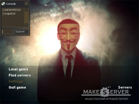 Anonymous GUI