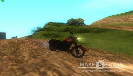Motorcycle from Mercenaries 2