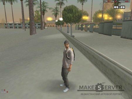 Skin Hipster v1.0 для GTA San Andreas второй скриншот.