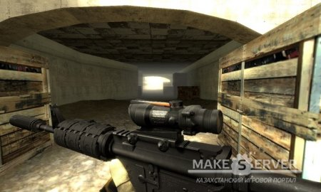I am Legend M4a1 on Braincollector BF3 animations