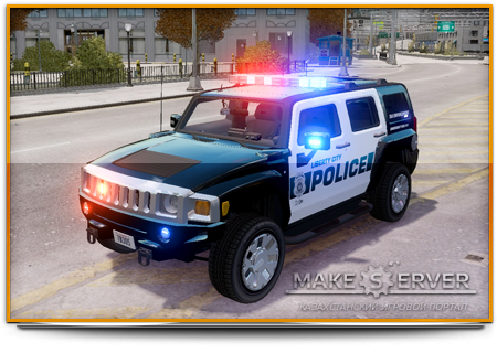 2007 Hummer H3X LC Police Edition [ELS]