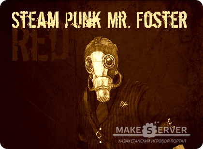 Red Steampunk Mr. Foster