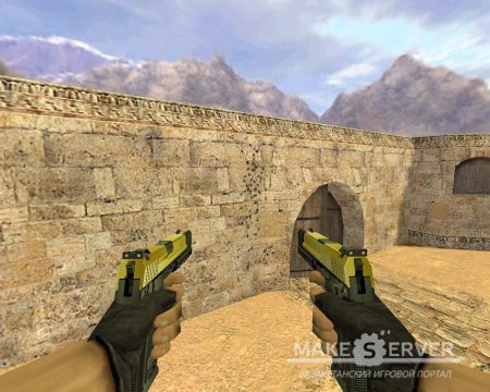 S.T.L Usp Matches Akimbo Color Retexture Pack