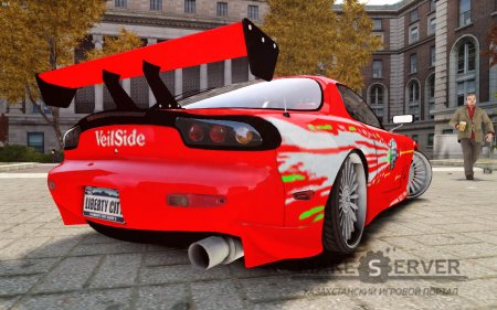 "Mazda RX7 ""Fast and Furious"""