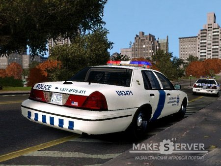 Ford Crown Victoria Homeland Security