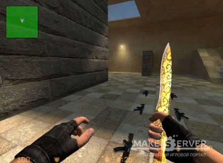 Gold Knife