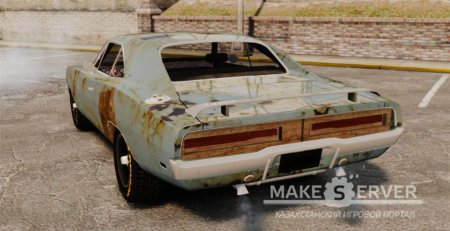 1969 Dodge Charger RT (Rusty) v1.1
