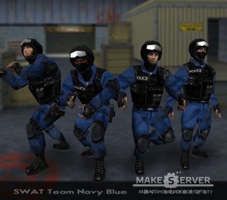 SWAT Team (Navy blue)