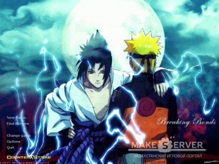 Naruto & Sasuke Background