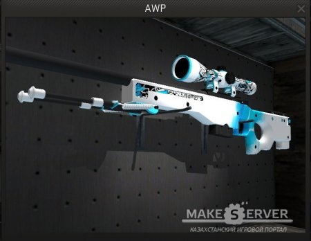 AWP STICKERBOMB SNOW