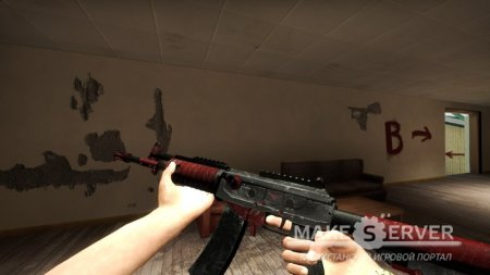 Galil AR Custom Skin (Battle Scared)