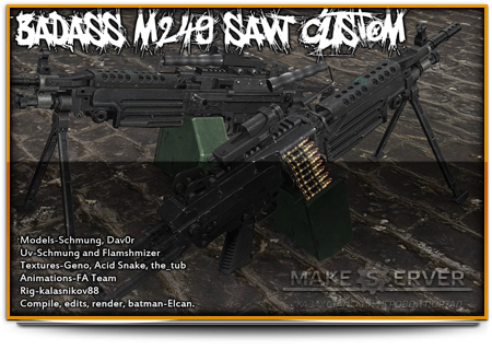 Badass M249 Saw Custom