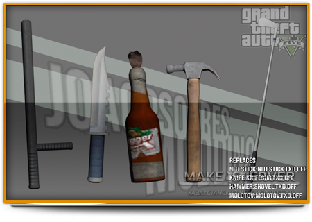 GTA V Some Weapons #1