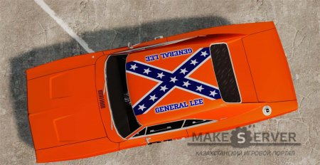 1969 Dodge Charger General Lee v2.0 (HD Vinyl)