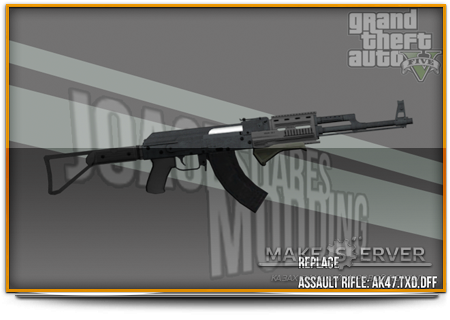 GTA V Assault Rifle