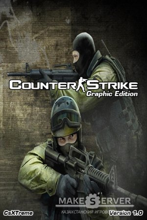 Counter-Strike Graphic Edition [RUS] [ZBOT+MISSIONS] [Version 1.0] [2014]