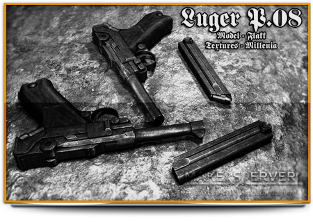 Luger Pistole 08 On Mike-'s